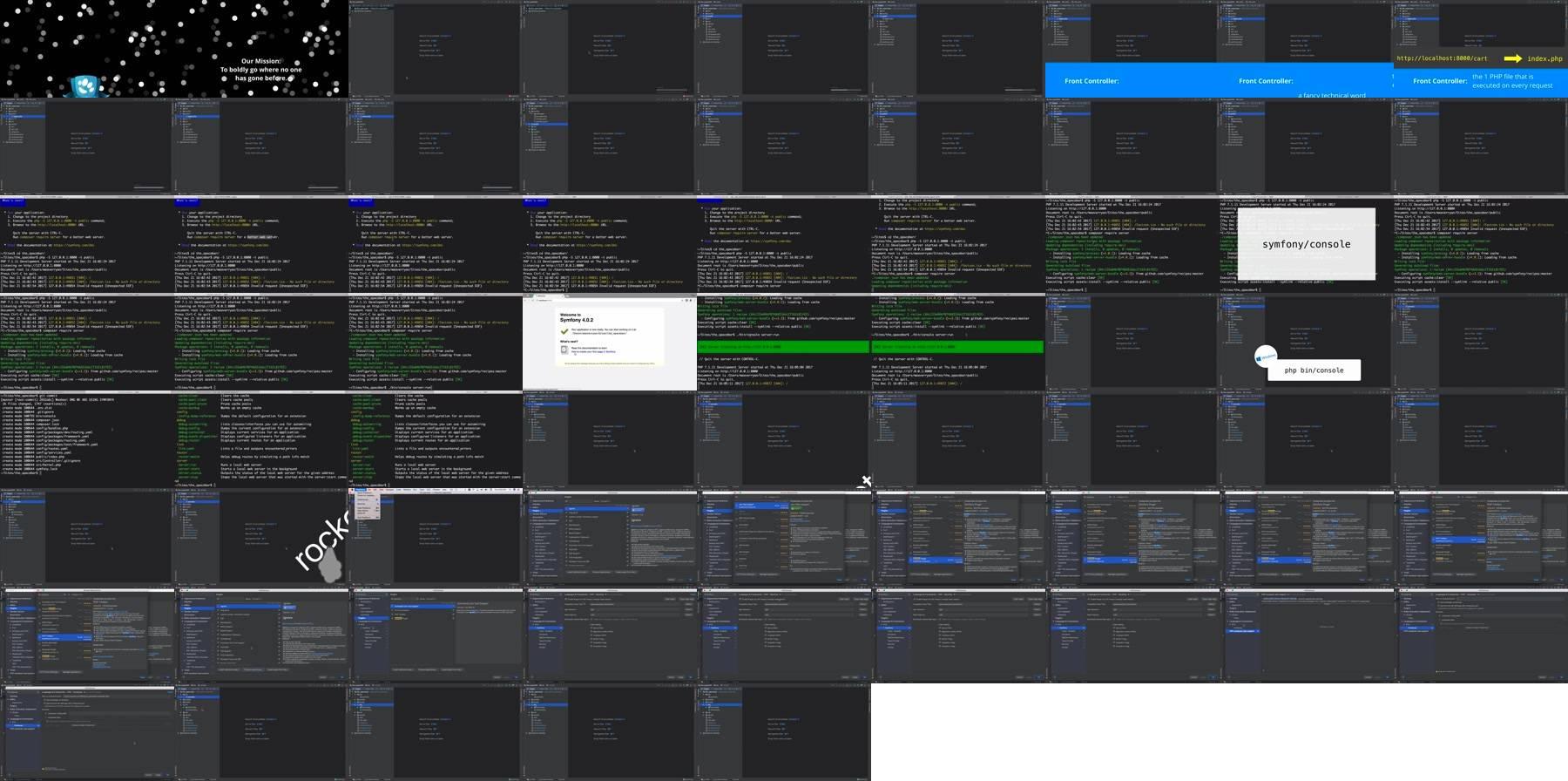 Our Micro-App & PhpStorm Setup > Stellar Development with Symfony 4