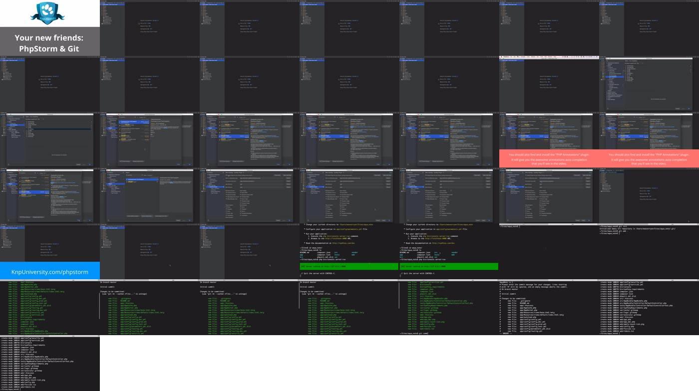 Setup! PhpStorm + git > Joyful Development with Symfony 3