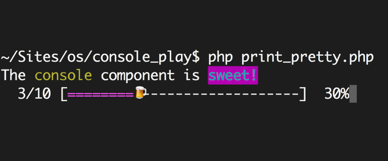 Fun with Symfony's Console Component