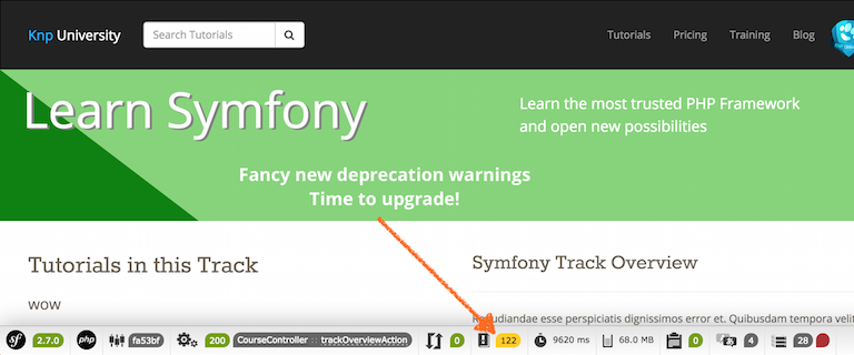 How we Upgraded to Symfony 2.7 (+ deprecation notices)